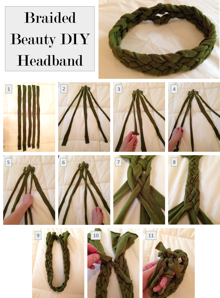 Braided Beauty DIY Headband