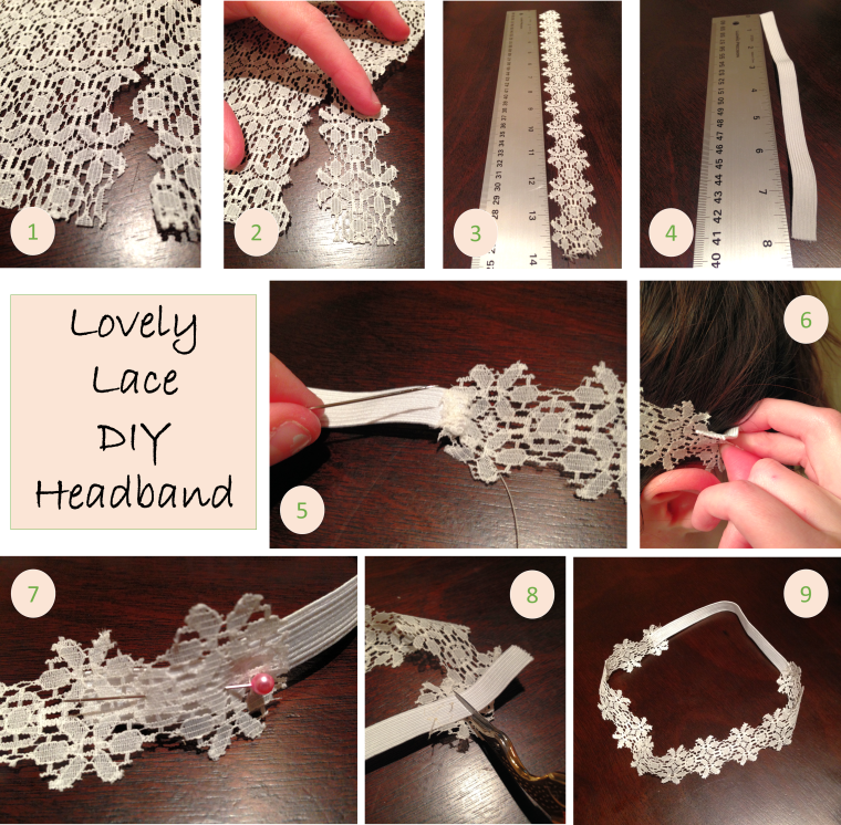 Lovely Lace DIY Headband