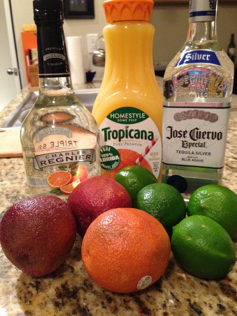 Blood Orange Margarita Ingredients