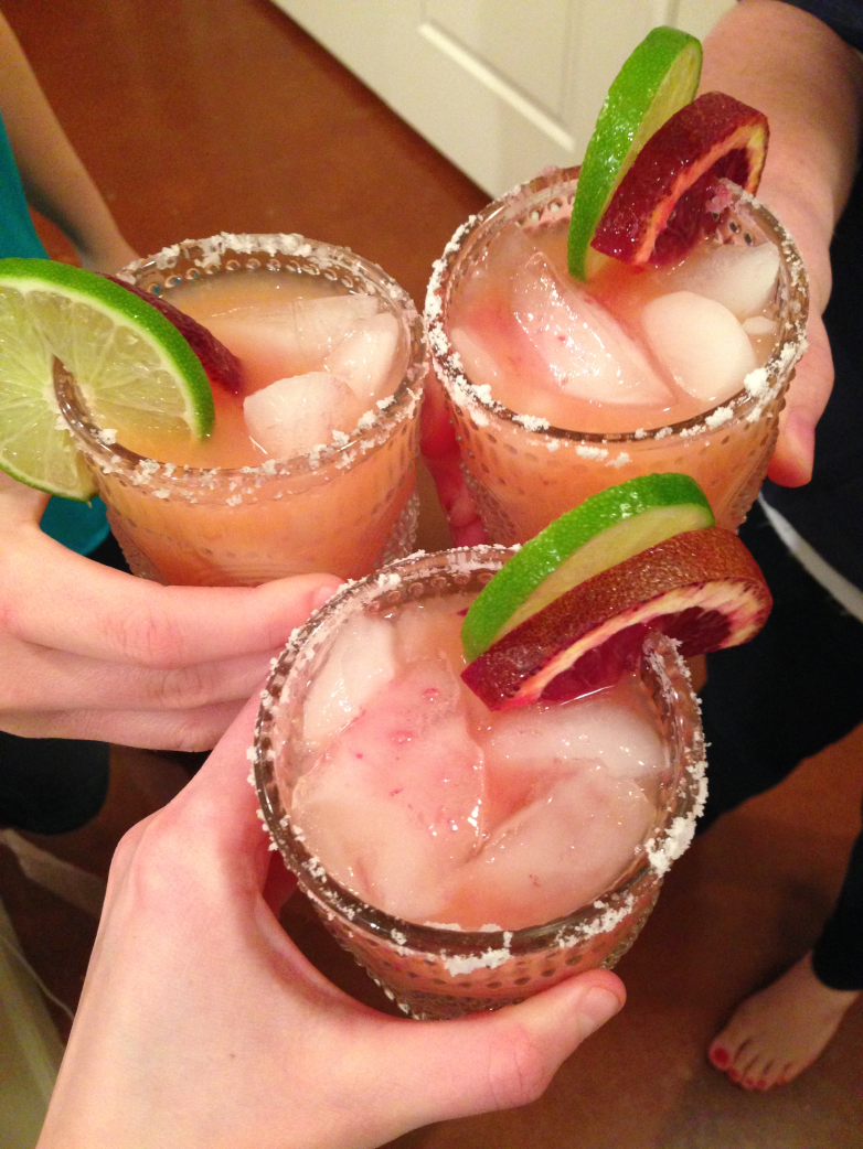 Blood Orange Margaritas from Bunny Baubles Cheers
