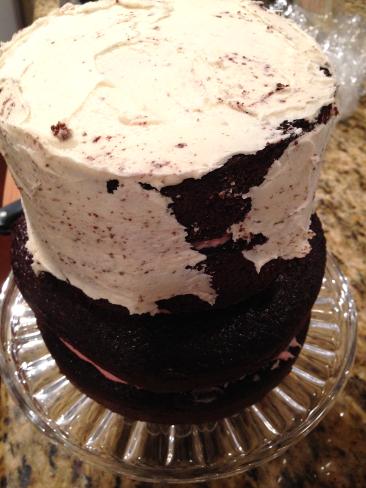 Cake Tip 7 - Crumb coat