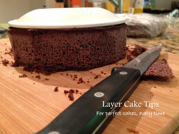 Layer Cake Tips from Bunny Baubles Blog