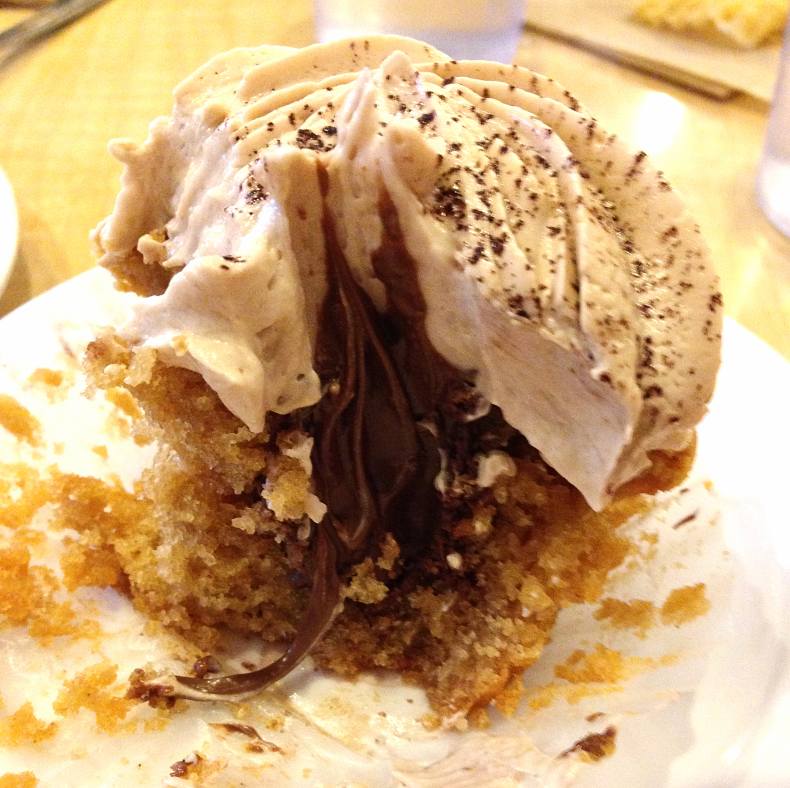 Molly's Cupcakes - peanut butter nutella