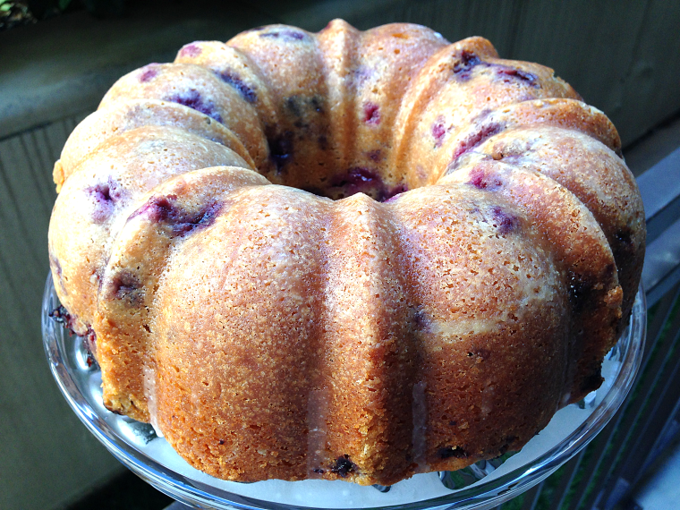 Blueberry Lemon Cake - full
