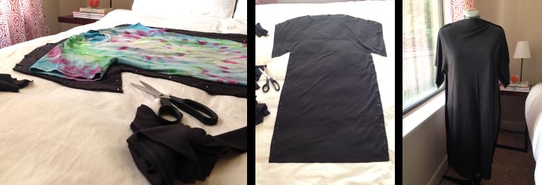 DIY Tee-Shirt Dress 2