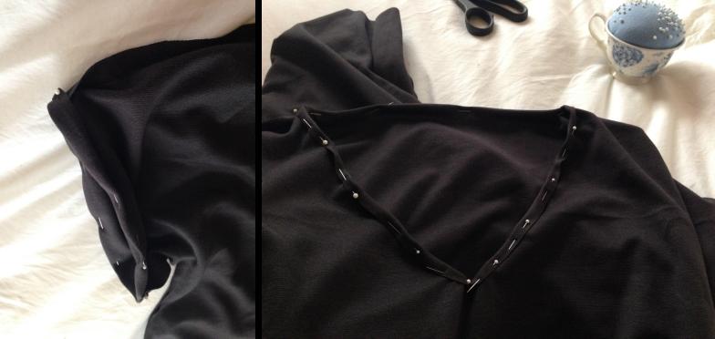 DIY Tee-Shirt Dress 5