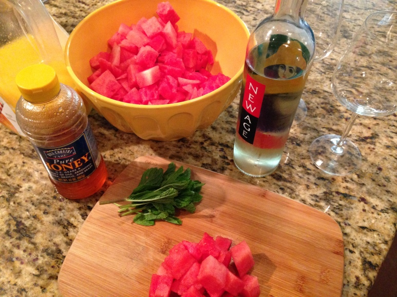 Watermelon Mint Spritzer Ingredients