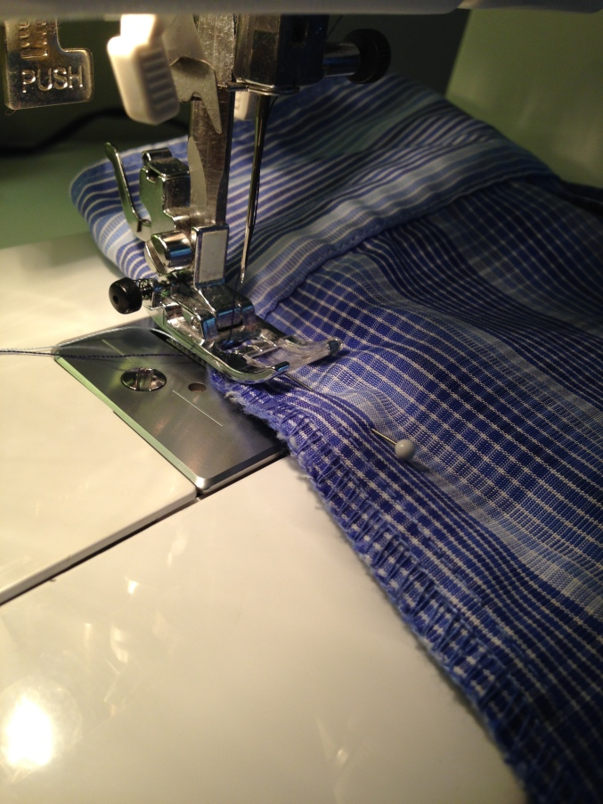 Alteration on Mens Simple Shirt Step 3 4