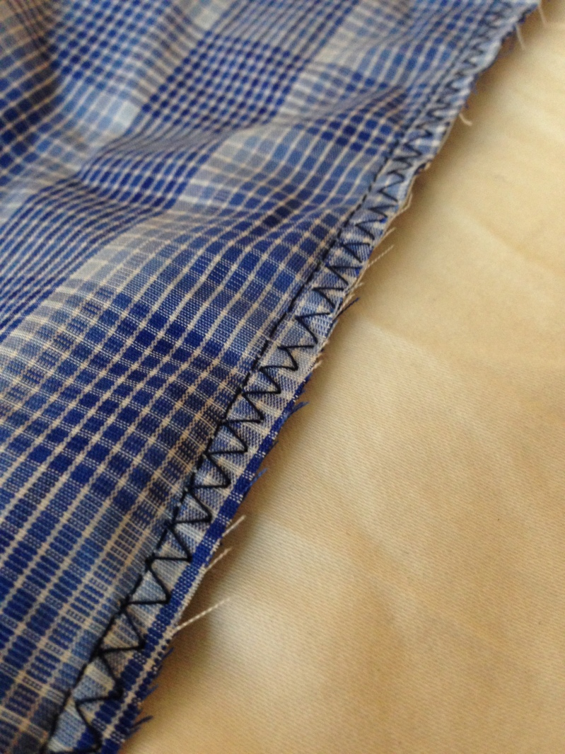 Alteration on Mens Simple Shirt Step 4 3
