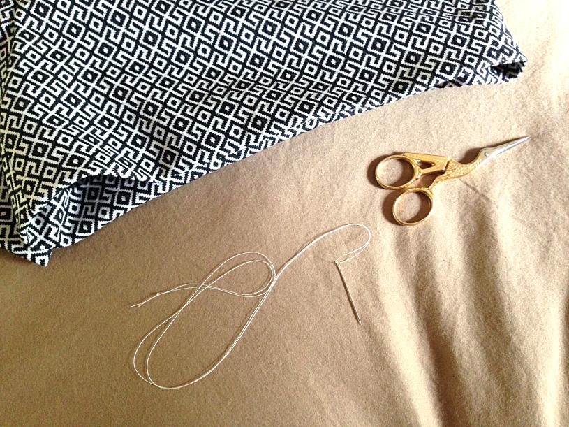 Hand-sewn Hem DIY 3
