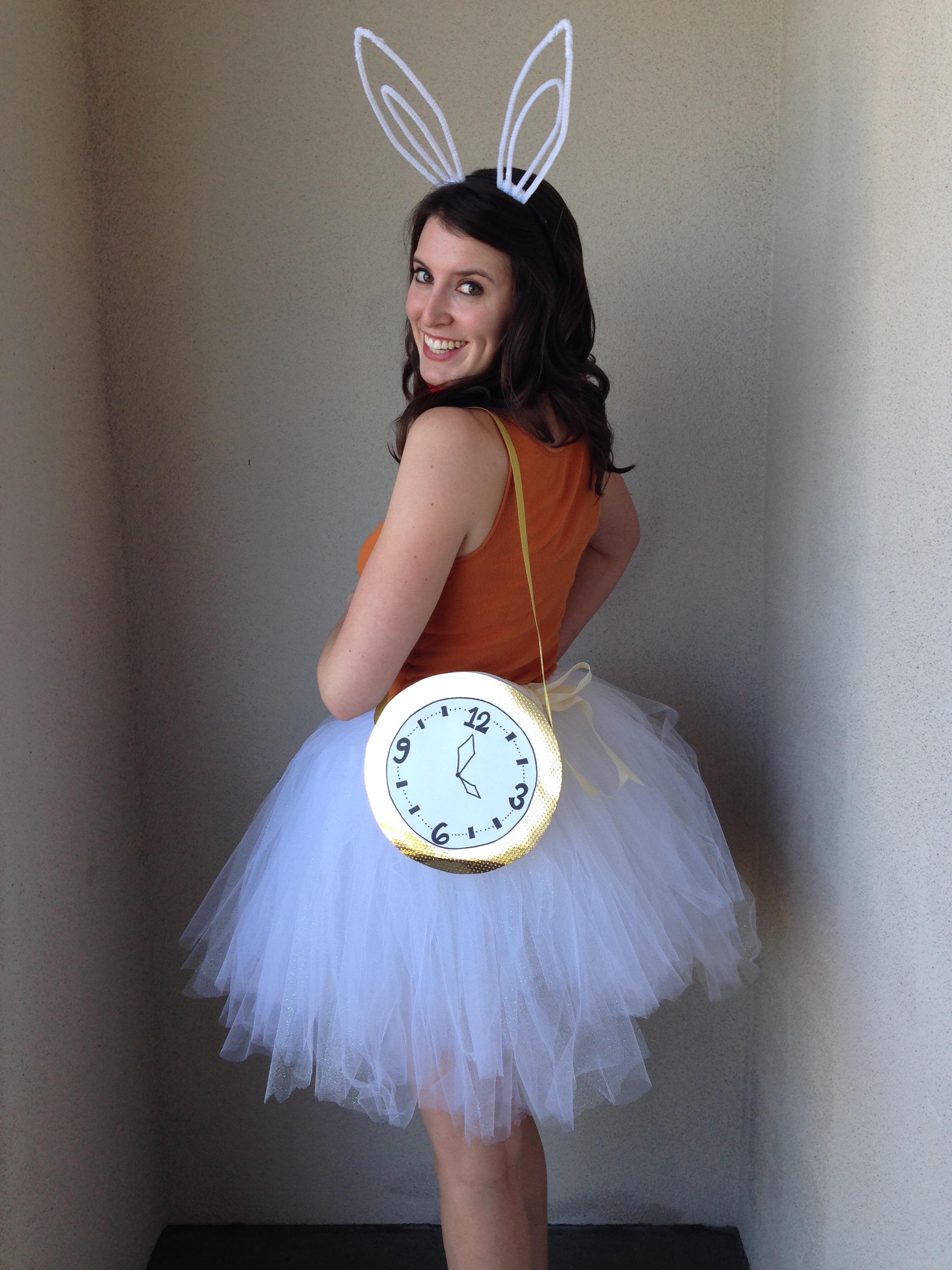 Alice in wonderland rabbit diy costume bunny baubles img4823 solutioingenieria Image collections