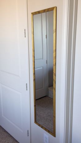 Modern Gilded Mirror DIY