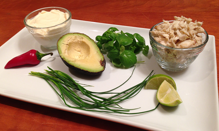 Crabby Avocado Dip by Bunny Baubles 1