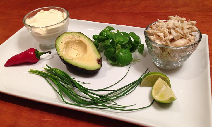 Crabby Avocado Dip by Bunny Baubles 1