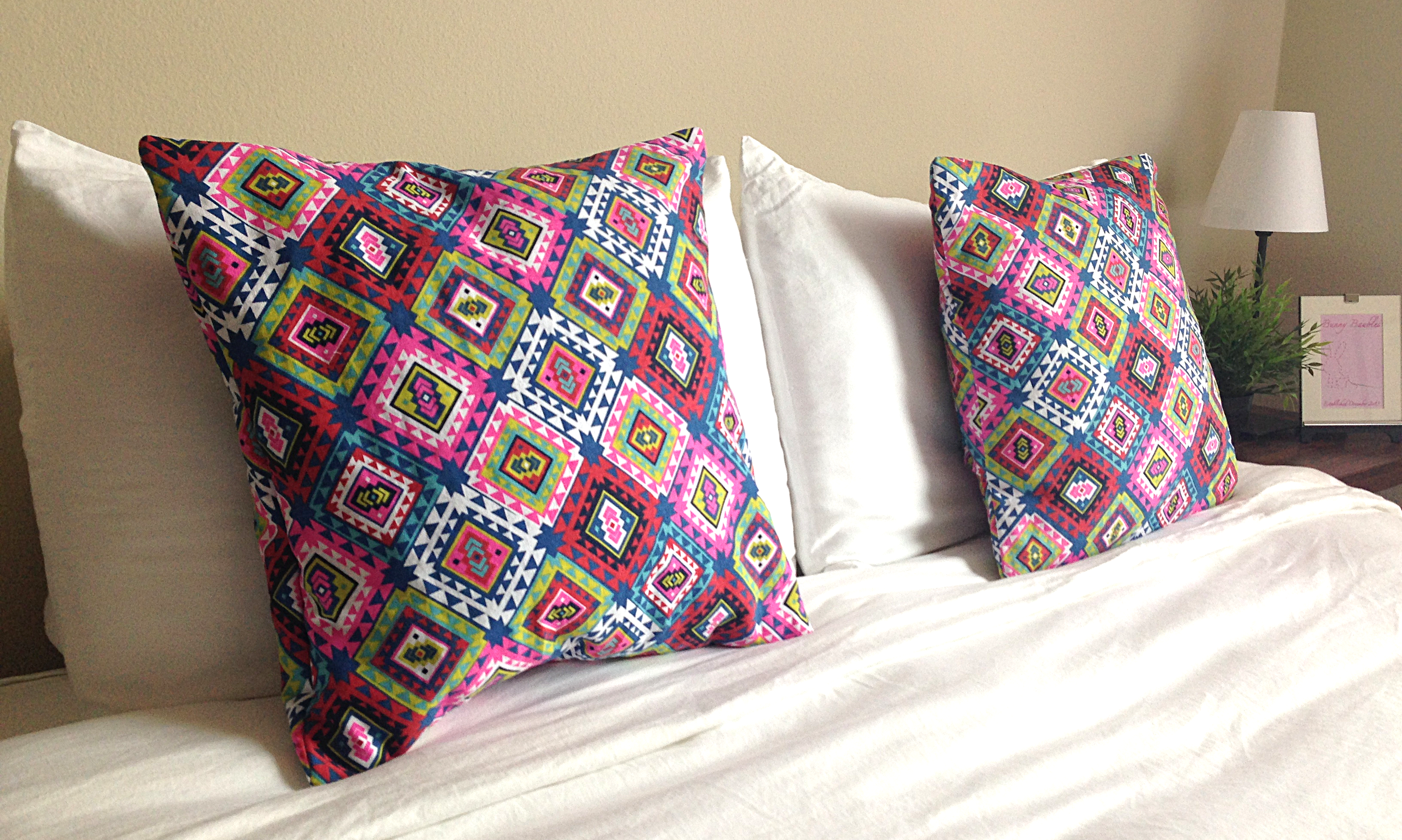 diy pillow sham by bunny baubles a
