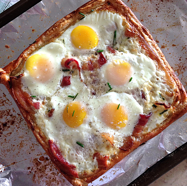 christmas breakfast gourmet egg tart - Best Christmas Breakfast