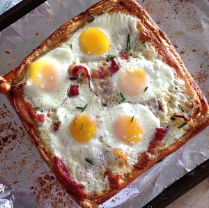 Christmas Breakfast - Gourmet Egg Tart