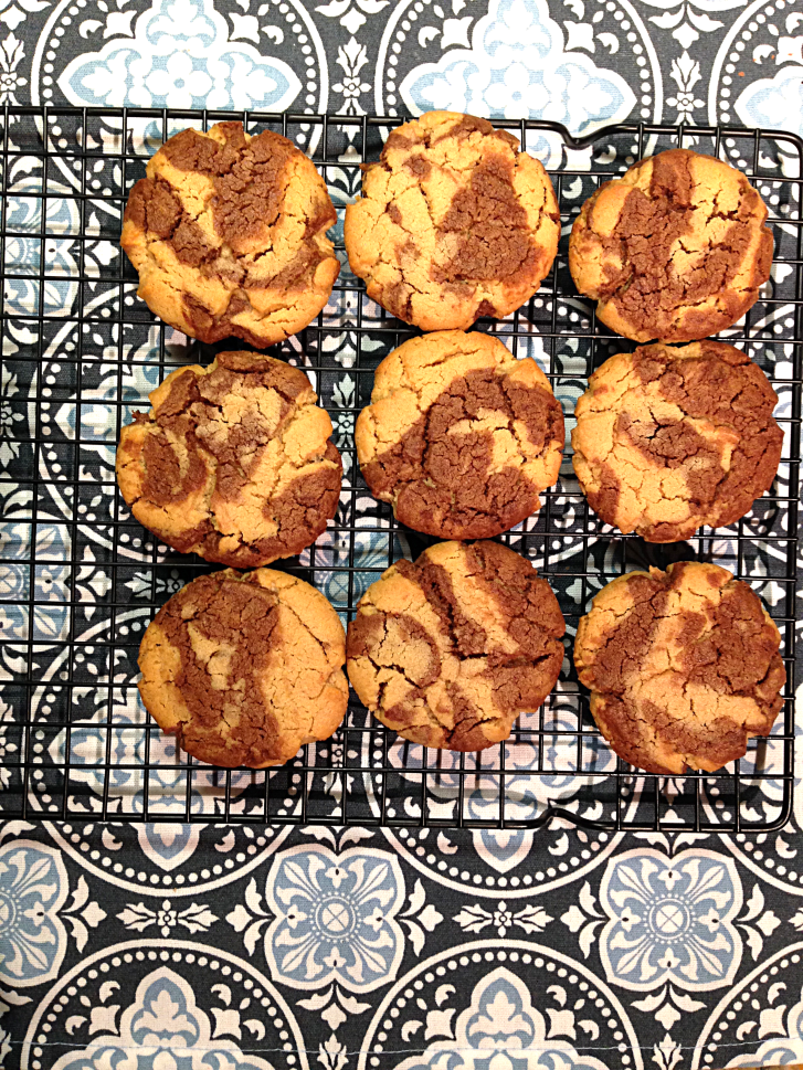 Peanut Butter Cocoa Swirl Cookies by Bunny Baubles 5
