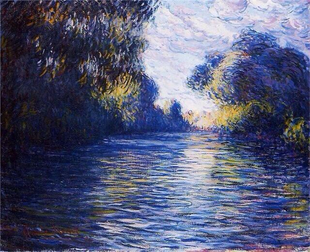 Monet on the Seine