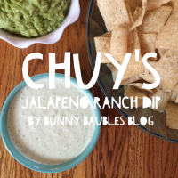 Copycat Recipe: Chuy's Jalapeno Ranch Dip