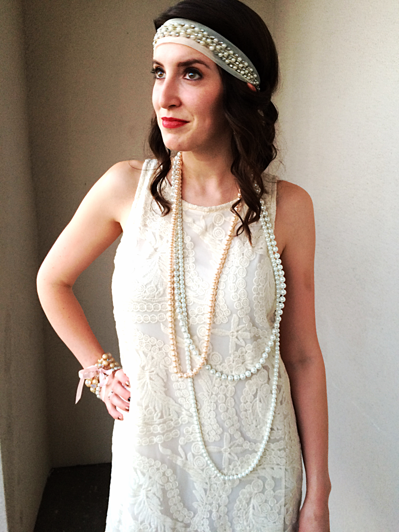 Easy 20s Flapper Dress Tutorial by Bunny Baubles 3