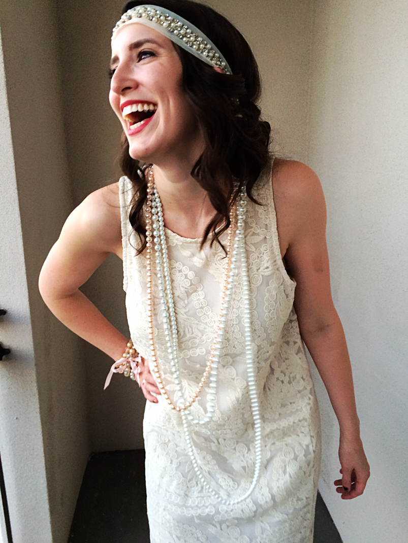 Easy 20s Flapper Dress Tutorial by Bunny Baubles 6