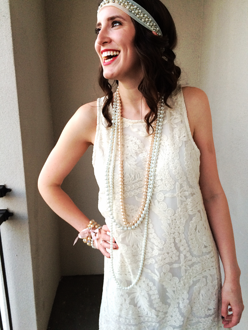 Easy 20s Flapper Dress Tutorial by Bunny Baubles 7