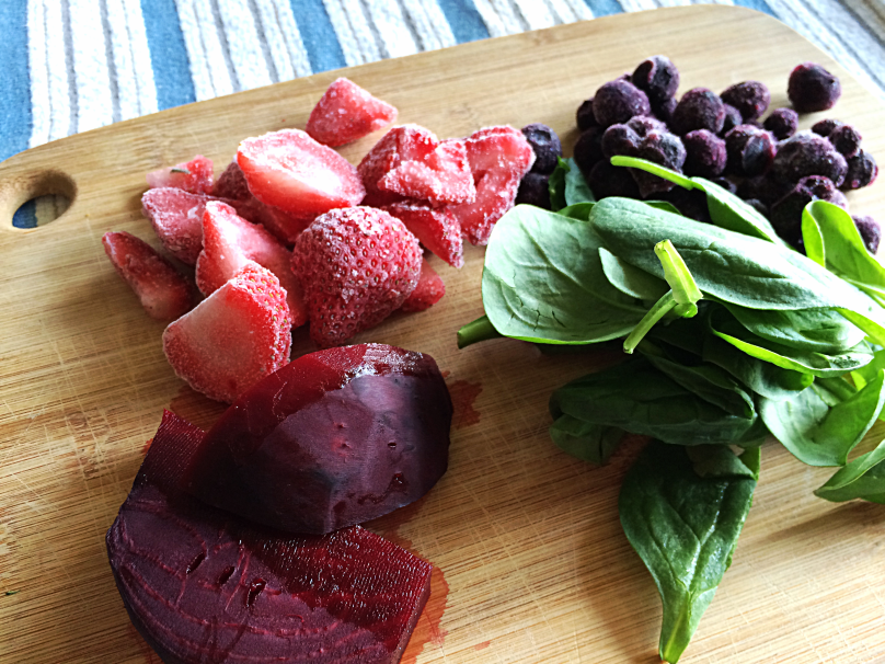 Berry Beet Smoothie by Bunny Baubles Blog 4
