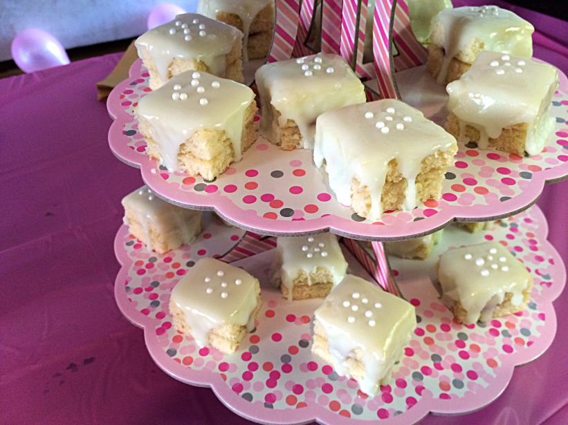 Casual Key Lime Petit Fours by Bunny Baubles 2