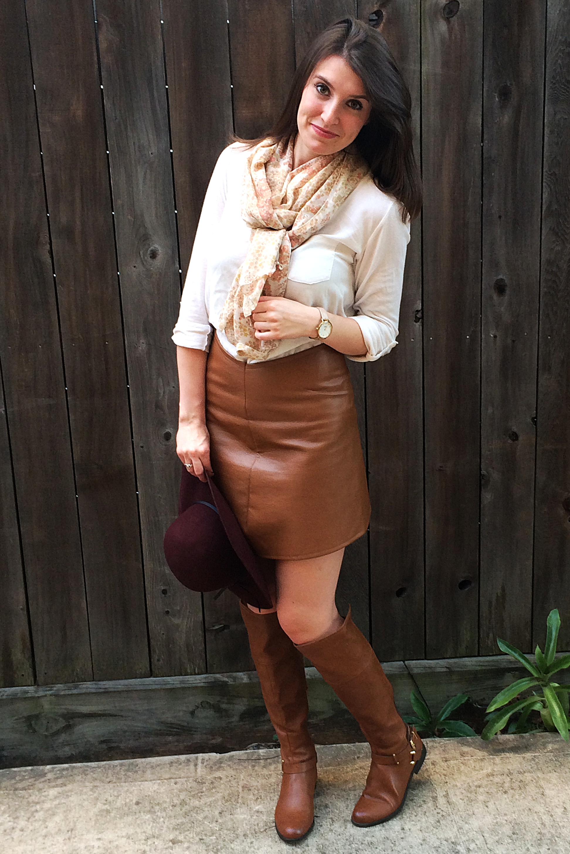 Leather Mini Skirt Sewing Tutorial – Bunny Baubles