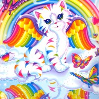 Lisa Frank Rainbow Kitten Costume DIY