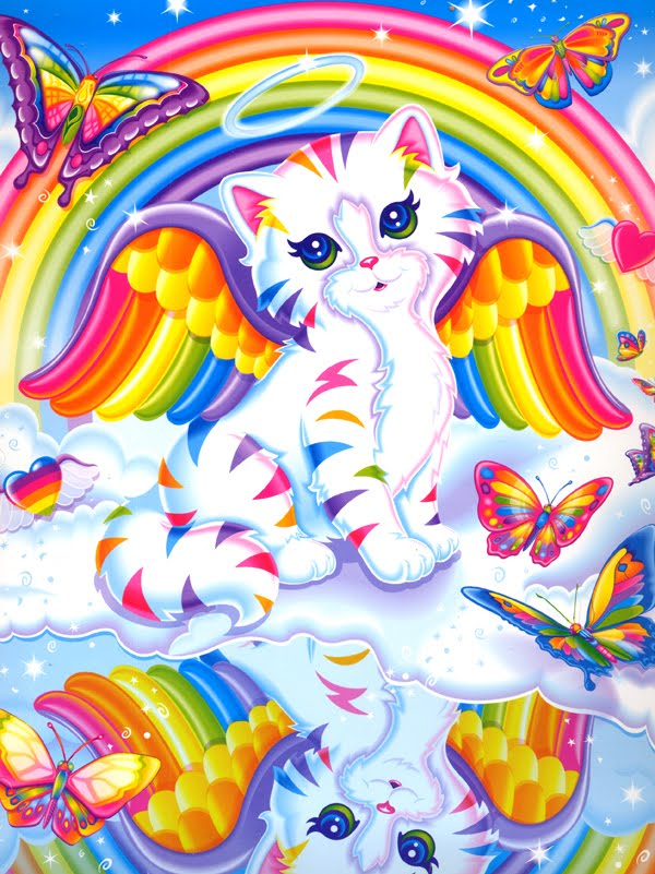 Lisa Frank Rainbow Kitten