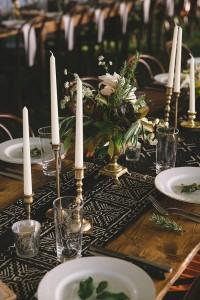 Rustic Table by Junebug Weddings