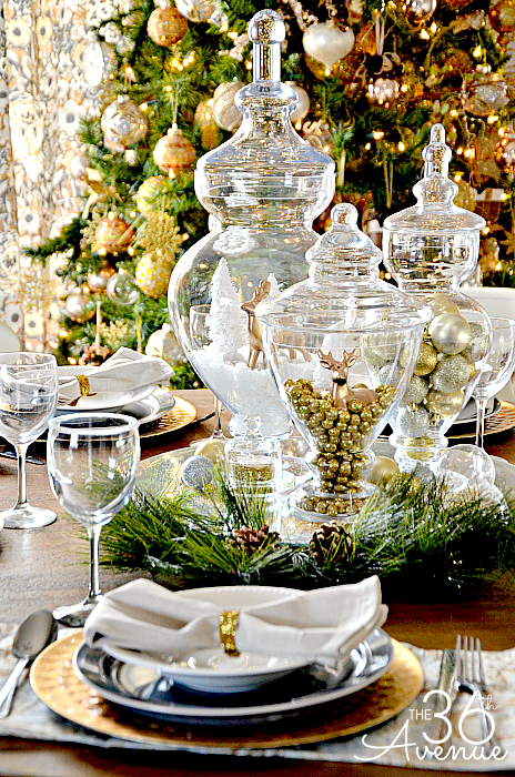 The 36th Avenue Christmas-Table-Escape-Ideas
