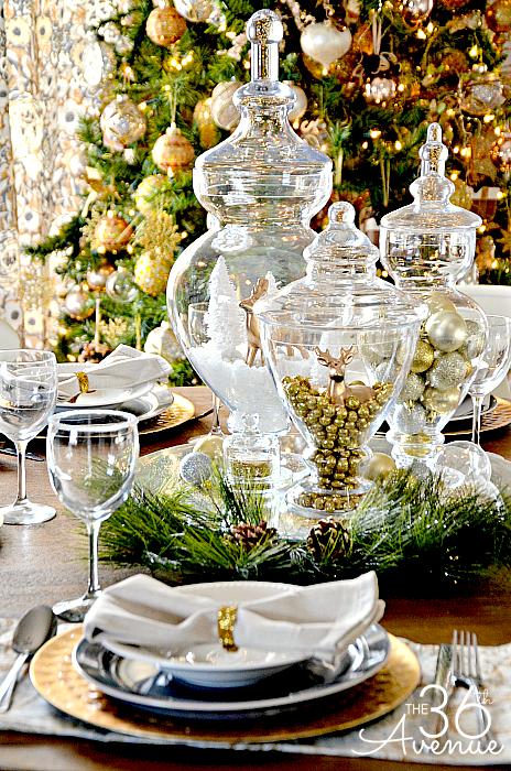 The 36th Avenue Christmas-Table-Escape-Ideas