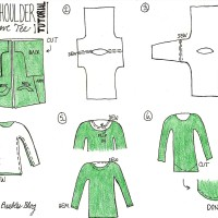Drop Shoulder Long Sleeve Tee Sewing Tutorial