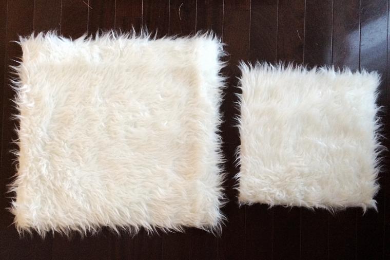 DIY Fur Pillow Case by Bunny Baubles 5