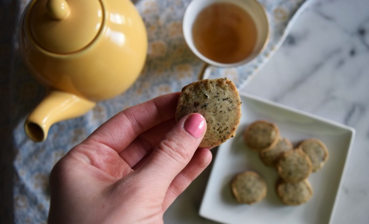 Lavender Earl Gray Tea Shortbread Cookies by Bunny Baubles 8