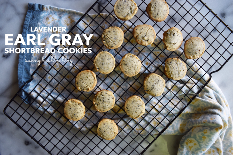 Lavender Earl Gray Tea Shortbread Cookies by Bunny Baubles Blog
