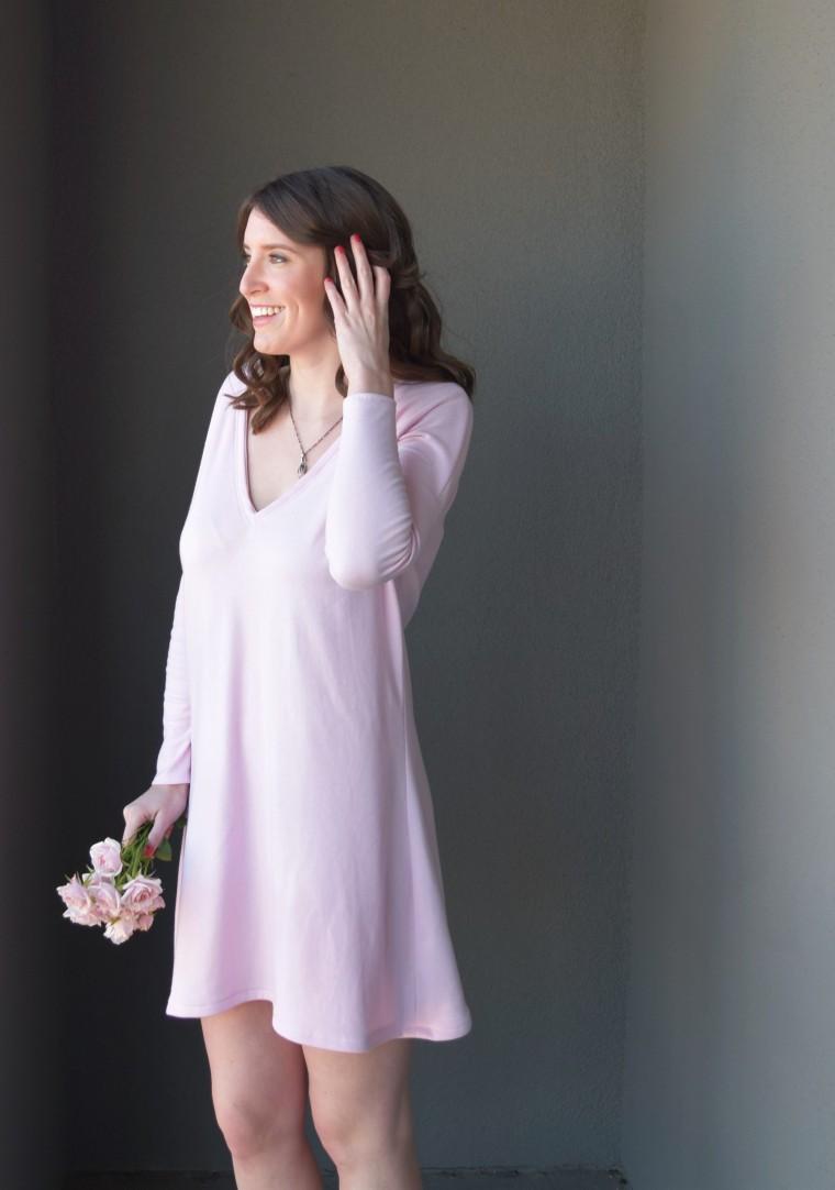 Blush Swing Dress Tutorial by Bunny Baubles Blog 1