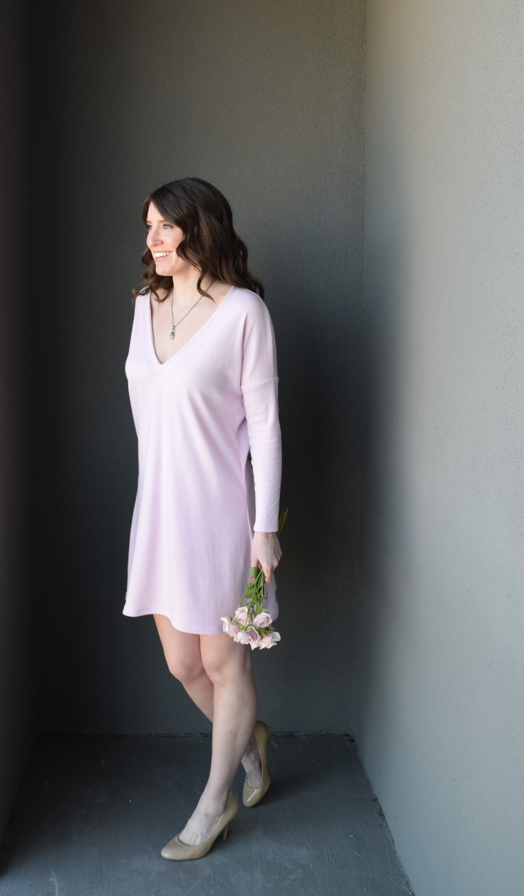 Blush Swing Dress Tutorial by Bunny Baubles Blog 3