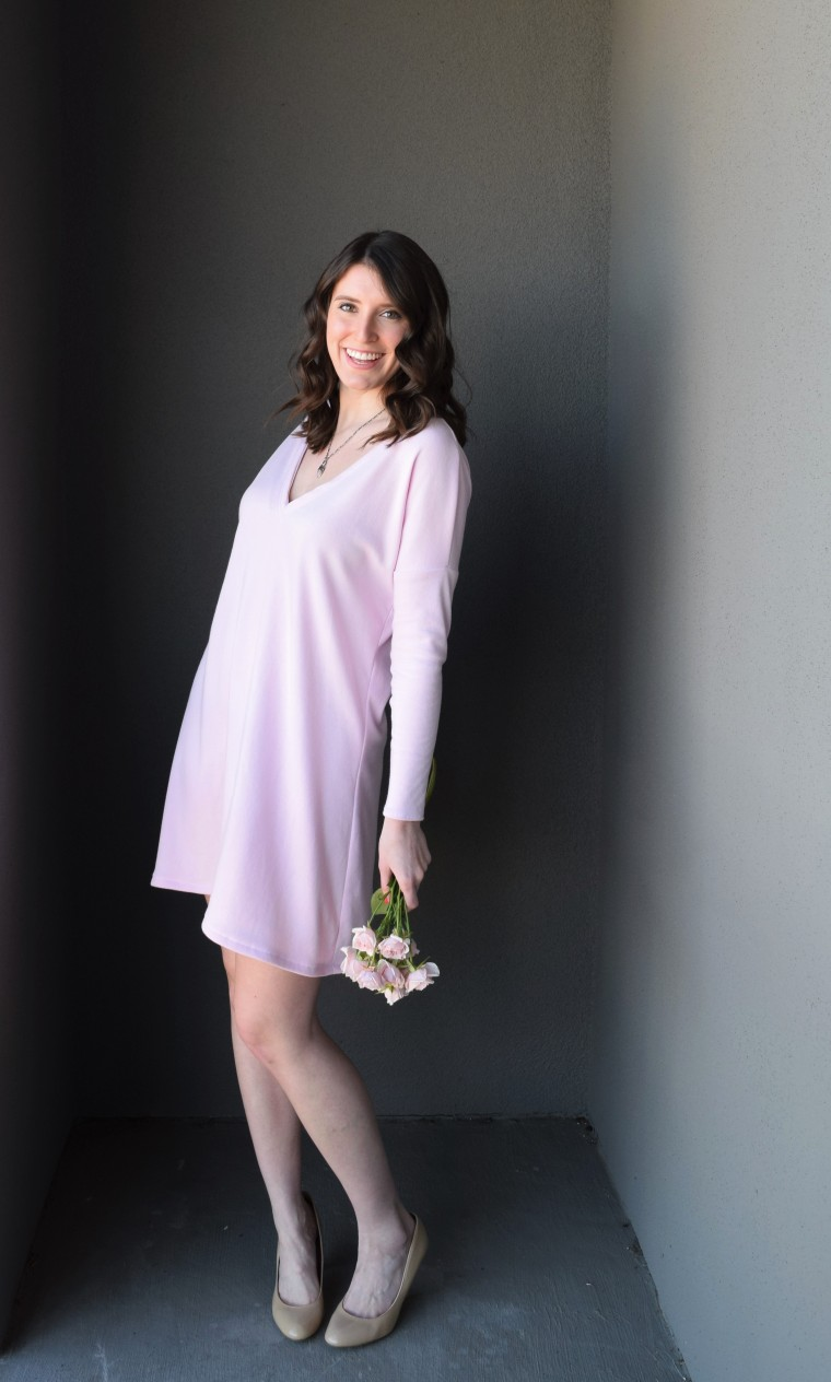 Blush Swing Dress Tutorial by Bunny Baubles Blog 4