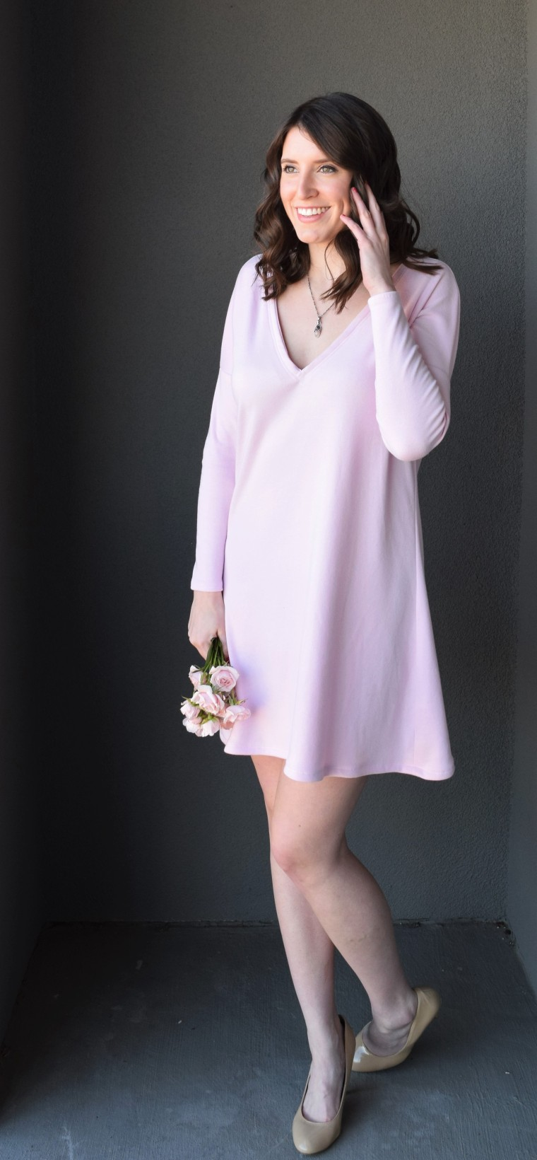 Blush Swing Dress Tutorial by Bunny Baubles Blog 5