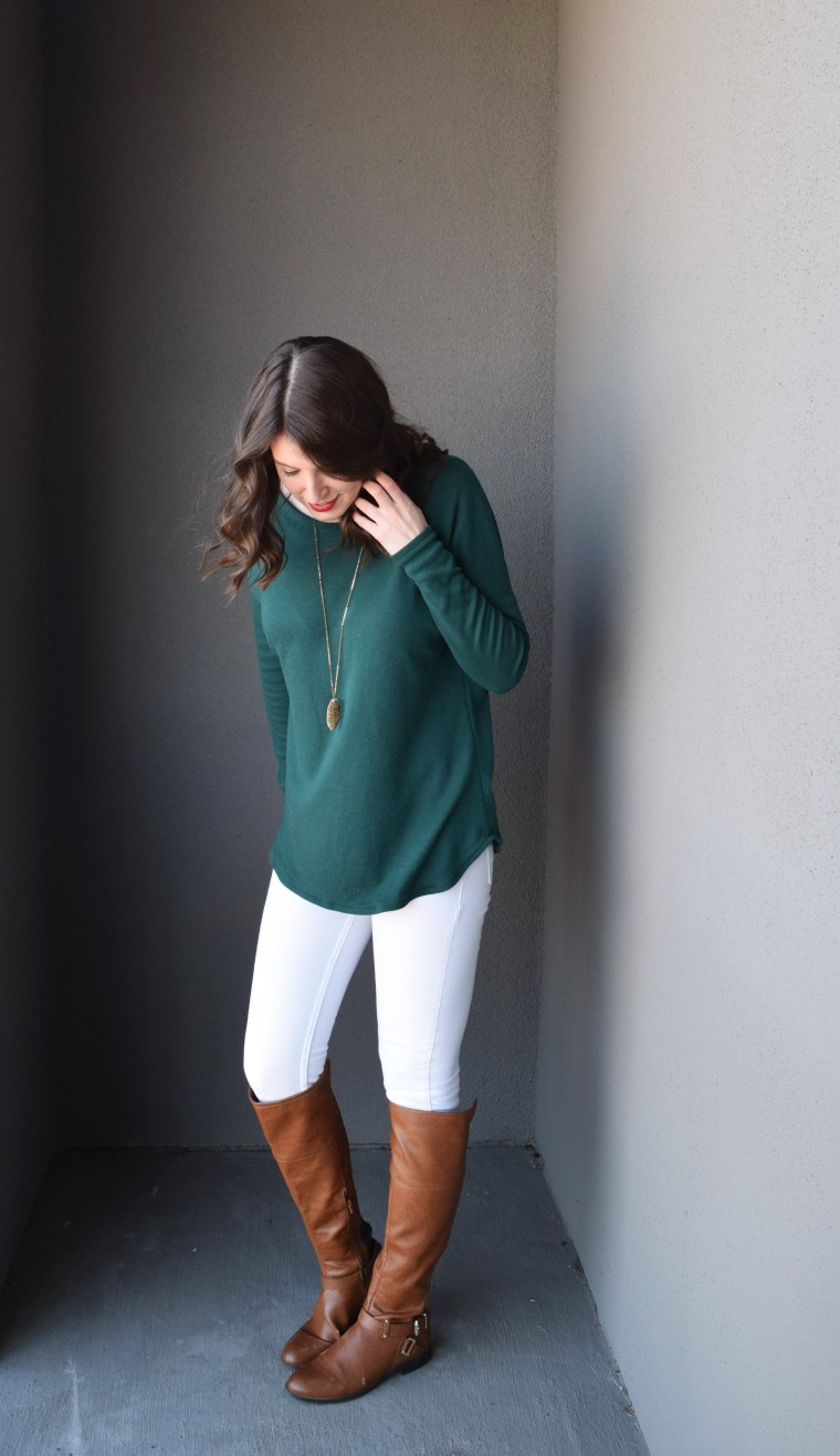 Drop Shoulder Long Sleeve Tee Tutorial by Bunny Baubles 2