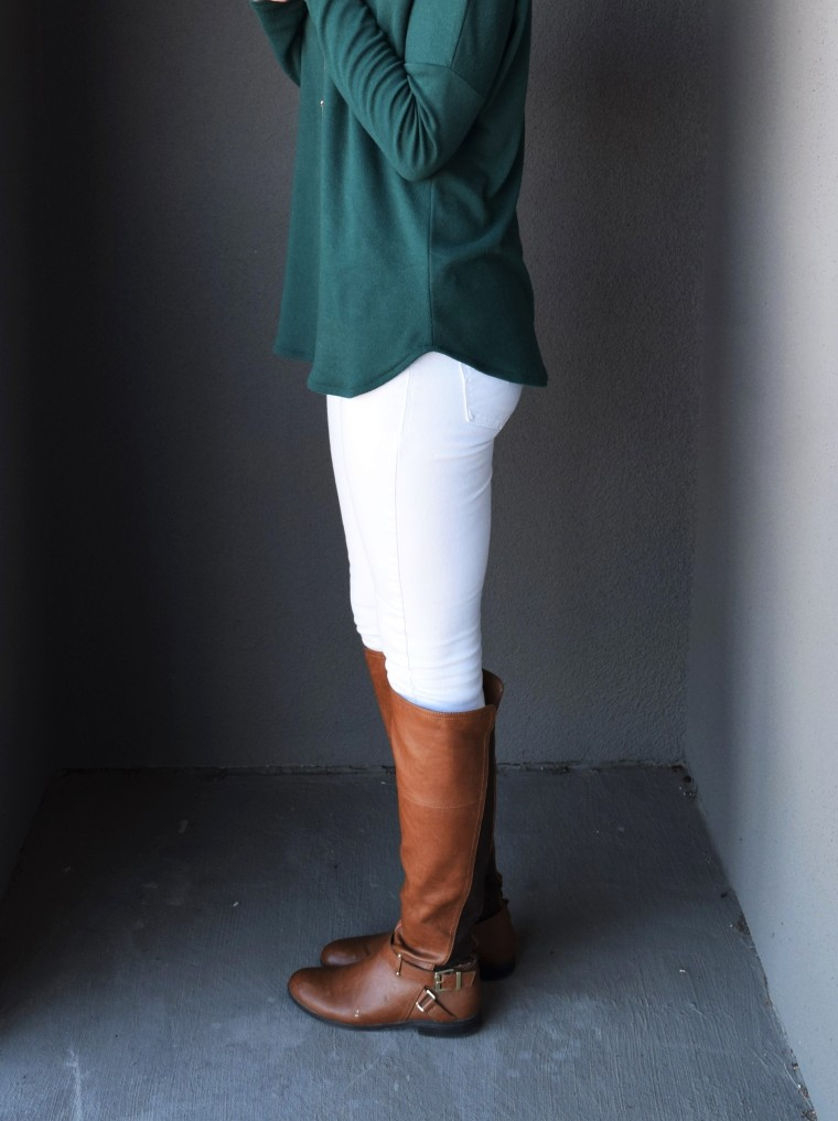 Drop Shoulder Long Sleeve Tee Tutorial by Bunny Baubles 3