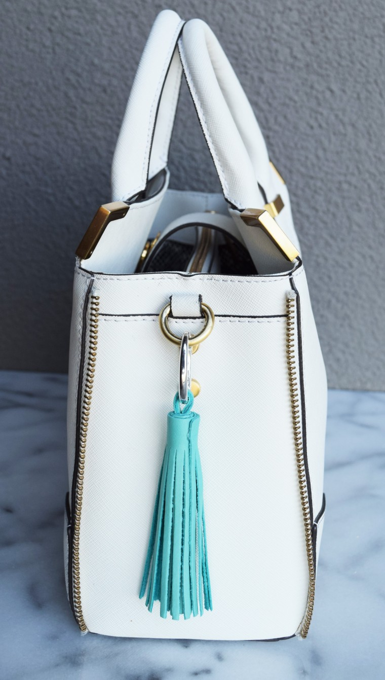 DIY Leather Tassel Charm by Bunny Baubles Blog 1