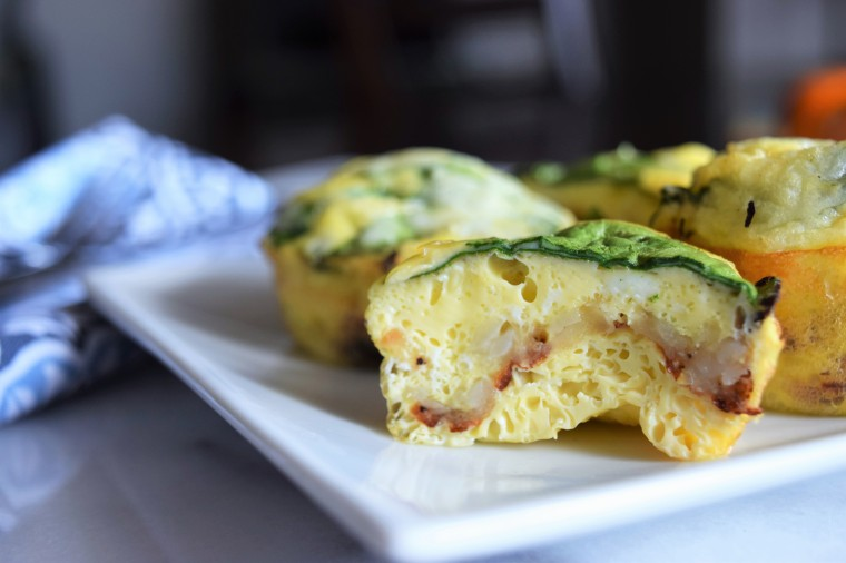 Quick Baked Egg and Hash brown Breakfast Cups by Bunny Baubles 1