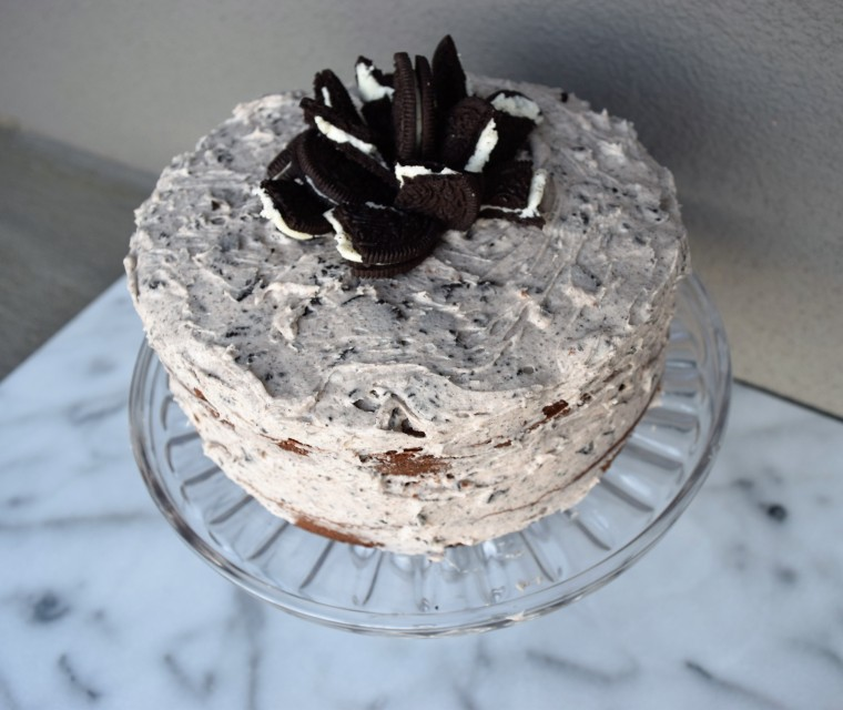 Cookies and Cream Cake Recipe by Bunny Baubles 9