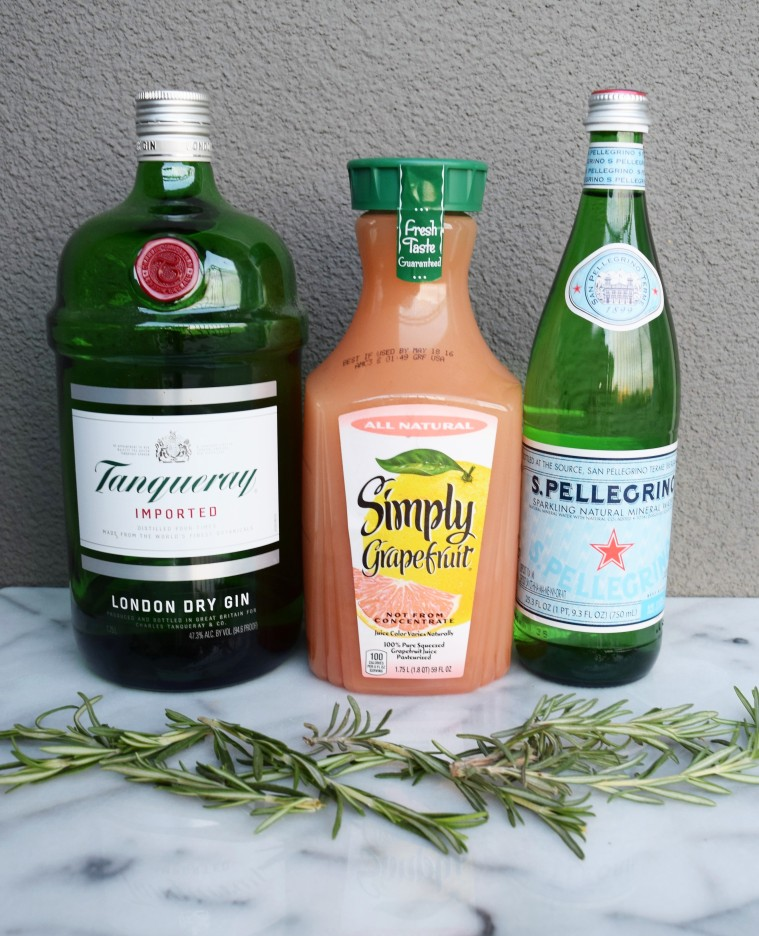 Gin and Grapefruit with Rosemary by Bunny Baubles Blog 1