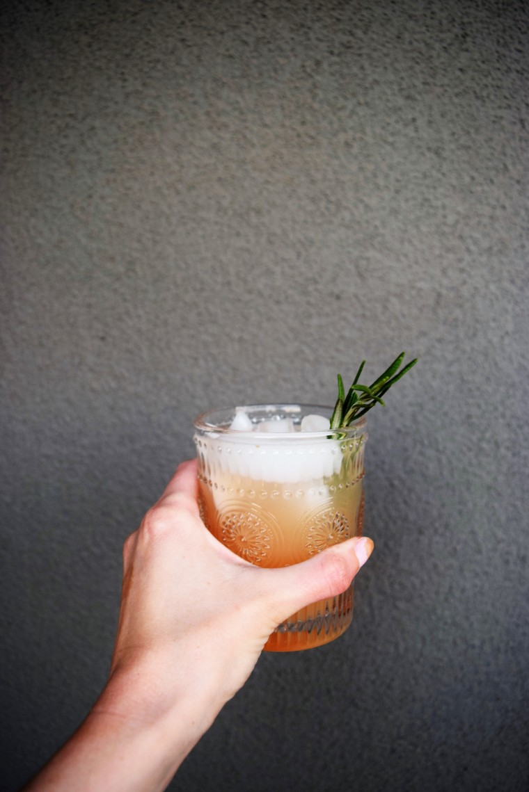 Gin and Grapefruit with Rosemary by Bunny Baubles Blog 5